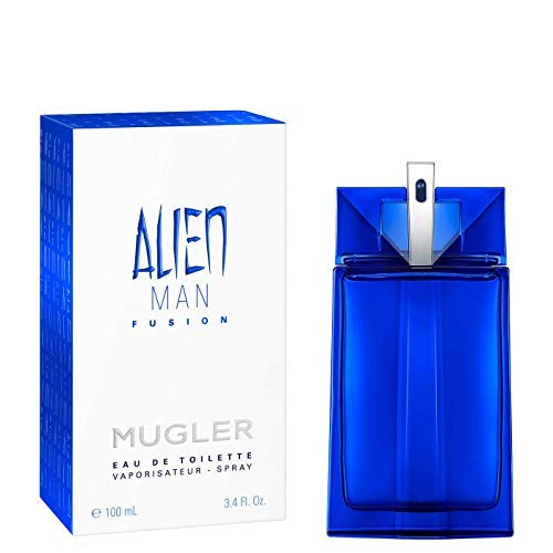 100% Authentic MUGLER Alien Man Fusion EDT 100ml Made in France +...