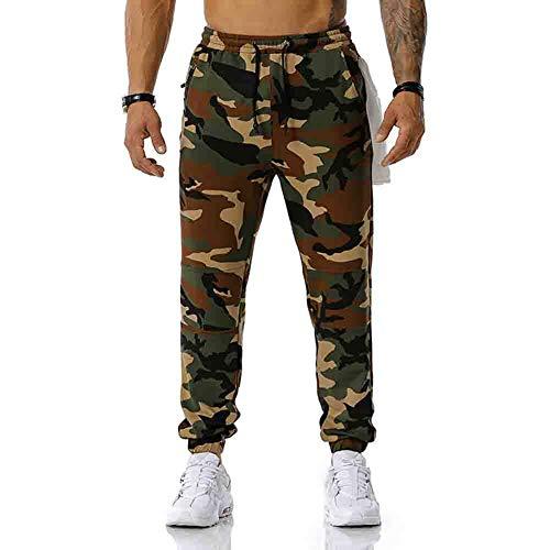 Pantalón de Vestir para Hombre - Pantalón de Trabajo para Hombre -Pantalones Cargo de Camuflaje