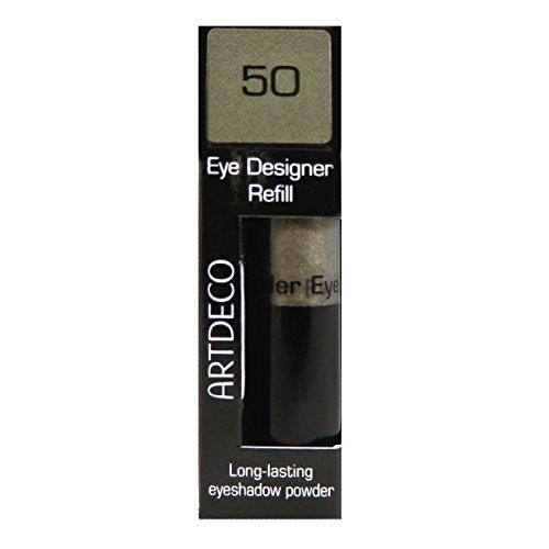 Artdeco Eye Designer Refill, oogschaduw, navulling, 50, diep grijs olijf, 1 x 9 g