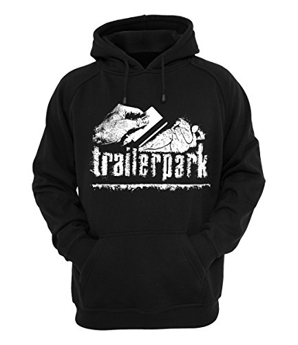 Trailerpark Hoody Koka, Farbe:schwarz, Größe:S