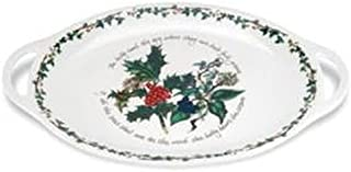 Portmeirion Holly and Ivy Oval Platter 45cm