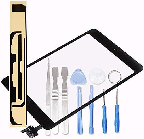LL TRADER Noir Kit de Remplacement d'écran pour iPad Mini 1 & 2 Écran Tactile Numériseur Panneau Avant Vitre Réparati...