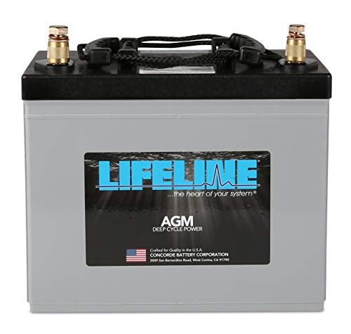 Lifeline Marine AGM Battery GPL-24T