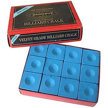 Sendgo 6 Pcs Snooker Piscine Grasse S/èche Craie Billard Table de Billard antid/érapant Craie Int/érieur Sport Accessoires Nouveau