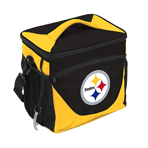 NFL Logo Brands Pittsburgh Steelers 24 Can Cooler, Team Color