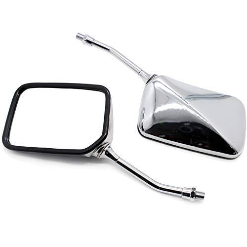 JXSMBP 10MM Motorrad Rückspiegel.Für Honda CB400 CB750 CB1000 CB1300 CB 1 VTEC VT250 ZRX400 VYR