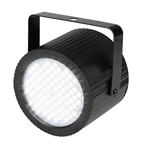 TSSS 20W 88-LEDs Weiß Strobe Lampe Stroboskope Bühnenbeleuchtung Party Beleuchtung DJ Disko Geburtstagsparty Projektor-Licht Halloween Weihnachten Blinklicht