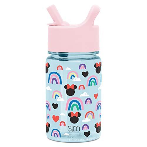Simple Modern Kids Tritan Bottles, 12oz Water, Minnie: Rainbows