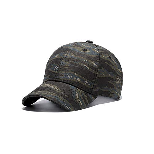 ZZYJYALG Sombreros para hombres gorra de béisbol, camuflaje casquette Casquette camuflaje sombreros para caza pesca actividades al aire libre hombres camo gorra casquette sombrero escalada béisbol som