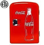 Mini réfrigérateur portable Coca Cola (classique) 4 litres/6 cannettes pour nourriture