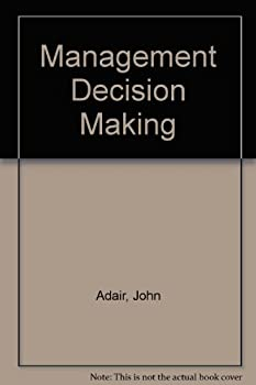 Hardcover Management decision making Book