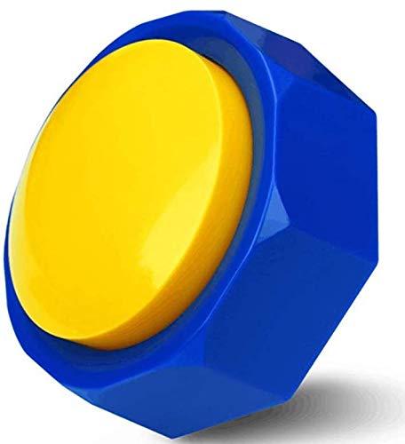 Neutral BOSKEY-Horn Button - Airhorn Sound Effect Button, Hip-Hop Rap Talking Button DJ Horn Sound Effect - Funny Gag Gifts(Battery Included)