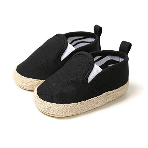Baby Boys Girls Moccasinss Soft Sole Tassels Prewalker Crib Anti-Slip Toddler Shoes PU Dark Brown 6-12 Months