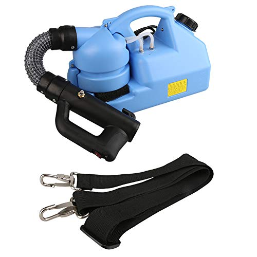 Little Poor 7L Fogger Machine Portable Electric U-L-V Sprayer Atomizer Mosquito Fogger Disinfection Atomizing for Indoor Outdoor, Office, Station, School, Restaurant, Garden, Home