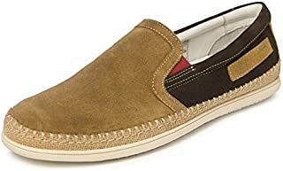 TONI ROSSI Men's Tan Nube Leather Casual Shoes (650363)