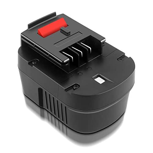 ADVNOVO 3000mAh Ni-MH 12V Batería De Repuesto Para Black&Decker 12V A12 HPB12 A12E A12EX A12-XJ Firestorm HPB12 FS120B FSB12 FS120BX XD1200 para B&D 12V Bateria