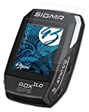 Bruni Película Protectora Compatible con Sigma Rox 11.0 Protector Película, Claro Lámina Protectora (2X)