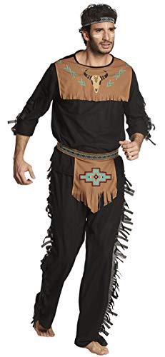 costumebakery – Disfraz de Indio con Flecos en el Estilo Apache, Lobo...