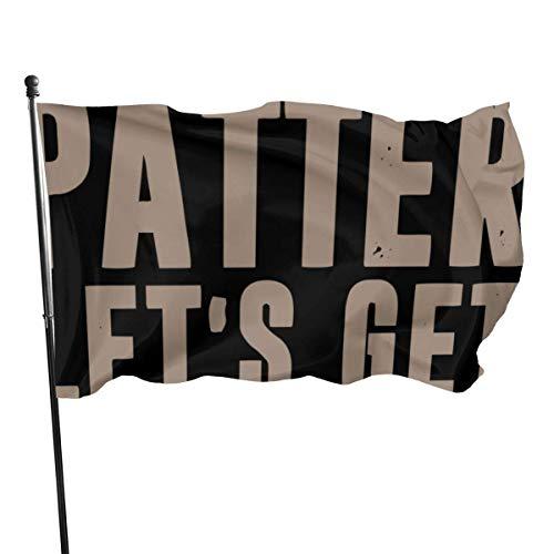 Clsr ~ Elternpinguin lustige Bunte vibrierende Gartenflagge für saisonale Festliche dekorative-PitterPatter-