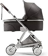 Mamas & Papas 2015 Urbo2 Carrycot Chrome - Chestnut Tweed