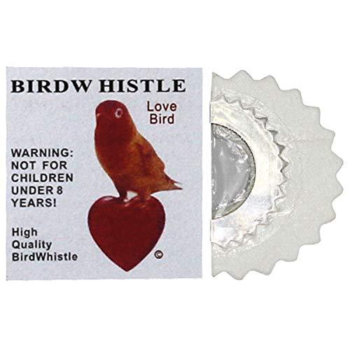 Bciou Bird silbato suizo Warbler original mágico tuiteando ruidoso juguetes trucos mordaza