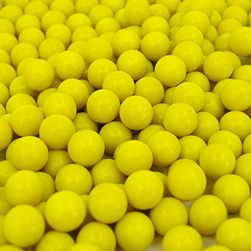 Valken Infinity Paintballs - 68cal - 2,000ct - Yellow-Yellow Fill