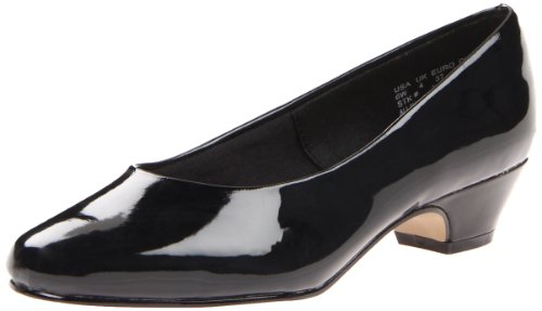 Soft Style Women's Angel II Pump,Black Patent,11 M US