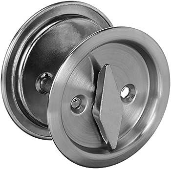 Kwikset 335 Round Bed/Bath Pocket Door Lock