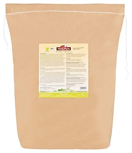 TERRA-PURA Tiernahrung Bio-Vegani Nr. 1, kaltgepresstes Trockenfutter für den Hund, 5kg