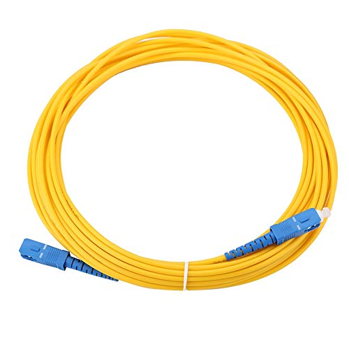 Patchkabel, 10m/11yd SC naar SC duplex glasvezel patchkabel Jumperkabel Single-mode patchkabel, goede inter-plug prestaties