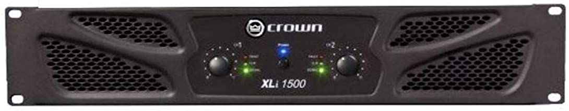 Crown XLi1500 Two-channel, 450-Watt at 4? Power Amplifier