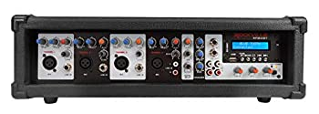 Rockville RPM45BT 1800w Powered 4 Channel Mixer/Amplifier w Bluetooth/EQ/Effects