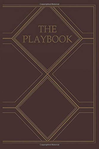 The Playbook: Notebook, Journal for Writing, Size 6