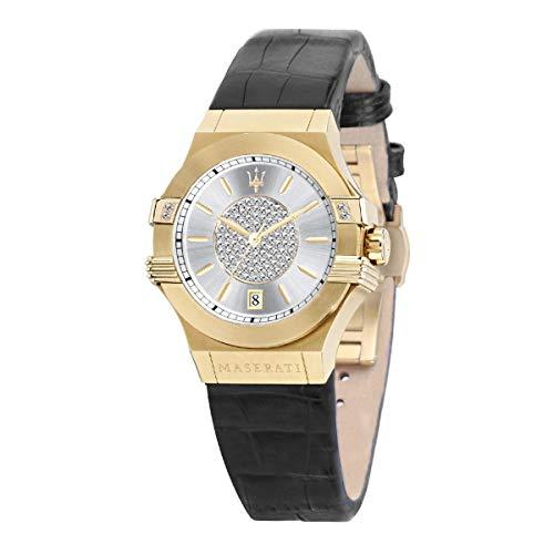 Reloj para Mujer, Colección Potenza, en Acero, Cuero - R8851108505