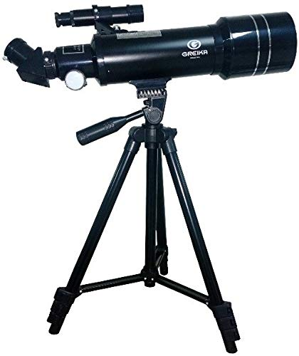 Telescópio Greika 40070m Refrator Azimutal 70mm 200x