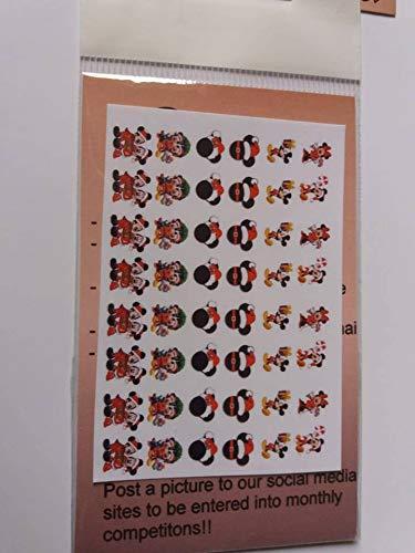 Weihnachten Mickey Mouse Disney Minnie Maus Zeichen 40Design Nail Art Aufkleber Set N170.
