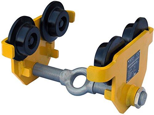 Rotek Unterflansch Laufkatzen mit bzw. ohne Fahrgetriebe, LK-Serie (1000kg ohne Fahrgetriebe)