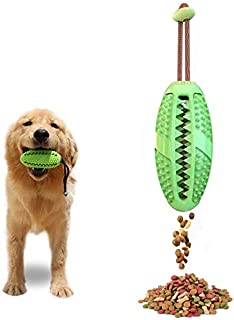 Allmart AD082804 Dog IQ Treat Ball/Interactive Food Dispensing Dog Toy/Dog Toothbrush, 3 in 1 Multifunction Dog Chew Toys...