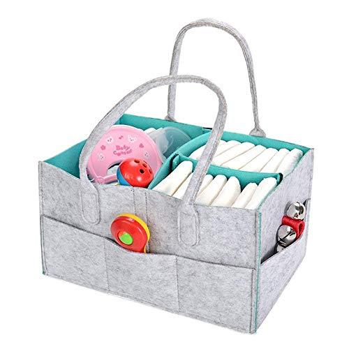JWIL Storage basket Size Bathroom Foldable With Lid Storage Basket Wicker Woven Storage Basket,Storage Basket for Home Office Closet Toys Clothes