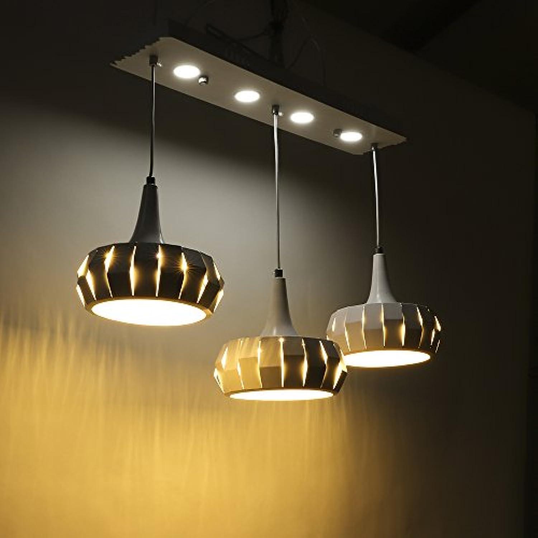 SAILUN 48W Warmwei LED Kronleuchter Kreatives Design Pendelleuchten Pendellampe für Esszimmer Küche Wohnzimmer Deckenleuchte Hngeleuchte Pendel Lampe (48W Warmwei - Kürbis)