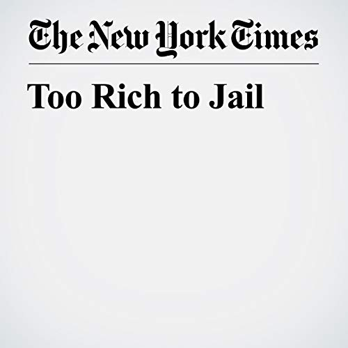Too Rich to Jail audiobook cover art