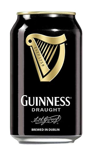 Guinness Draught Birra Scura Lattina 33cl (Cartone 24 pz)