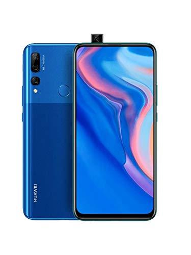 "Huawei Y9 Prime 2019 (128GB, 4GB RAM) 6.59"" Display, 3 AI Cameras, 4000mAh Battery, Dual SIM GSM Factory Unlocked - STK-LX3, US & Global 4G LTE International Model (Sapphire Blue, 128 GB)"