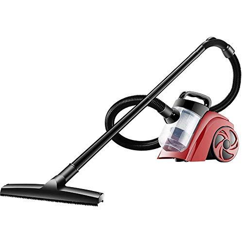 Zwbdb Aspiradora, 5L 1000W completa Premium Power Turbo Bagged Cilindro Pet Vacuum Cleaner, Ligero 2-en-1, de poco ruido de vacío del hogar Limpiador de Piso Moqueta coche del animal doméstico de pelo