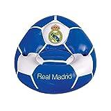 Real Madrid CF - Sillón hinchable (Talla Única) (Azul/Blanco)