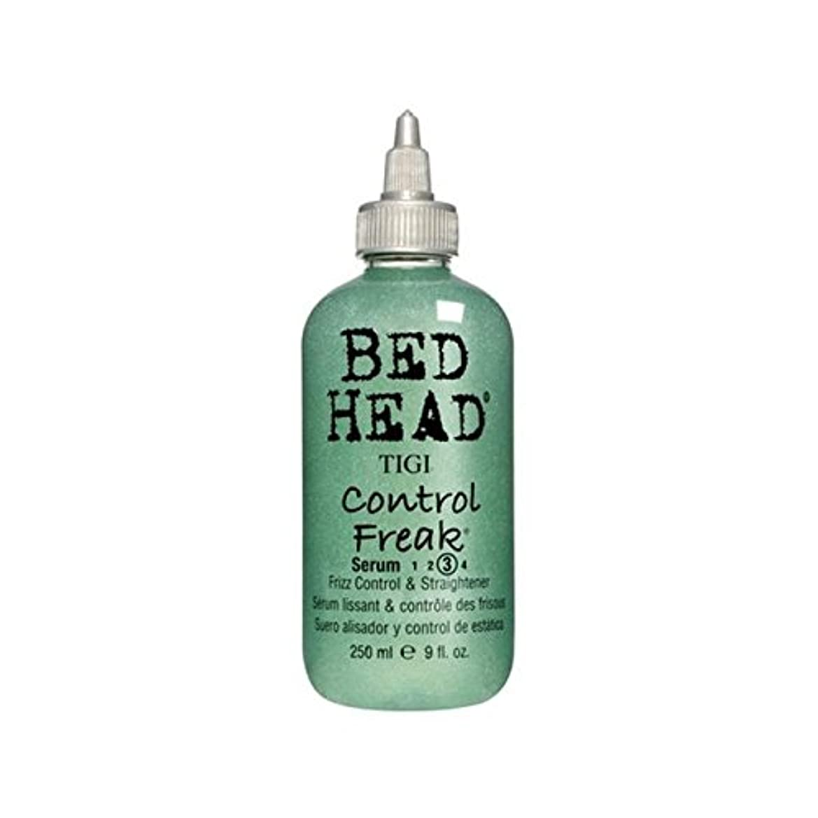 世界的に便利氏ティジーベッドヘッドコントロールフリーク血清(250ミリリットル) x4 - Tigi Bed Head Control Freak Serum (250ml) (Pack of 4) [並行輸入品]