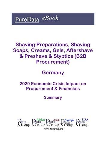 Shaving Preparations, Shaving Soaps, Creams, Gels, Aftershave & Preshave & Styptics (B2B Procurement) Germany Summary: 2020 Economic Crisis Impact on Revenues & Financials (English Edition)