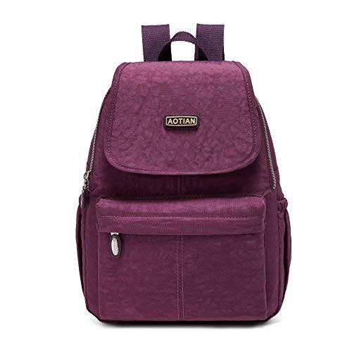 AOTIAN Plecak damski, czas wolny, plecak dzienny, podróże, małe torby na ramię, plecak miejski, plecak trekkingowy, lekki, plecak dzienny dla kobiet, 10 litrów