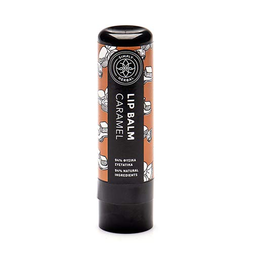 Simply Herbal Lip Balm Caramel with Herbal Oil and Butter blend (5ml)