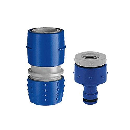 TATAY 0007301 Kit de Branchement à Robinet Plastique Bleu